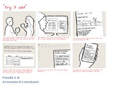Combining service features with a sentiment chart and storyboard book excerpt the user experience team of one ux magazine storyboard templatestoryboard saigontimesfo