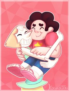 With you by Kikirrikitiki on DeviantArt - Pearl and Steven Universe Images, Universe Art, Steven Universe, Rainbow Quartz, Know Your Meme, Anime Manga, Character Art, Minnie Mouse, Disney Characters