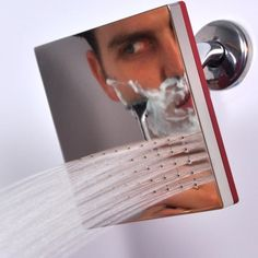 Zuhanyfej, ami tükör (is) Shower Mirror, Great Inventions, Just For Men, Shower Heads, Cool Gadgets, My Dream Home, Reflection, Household, Sweet Home