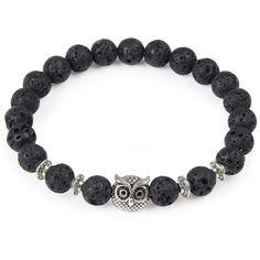 Owl Stone Bracelet