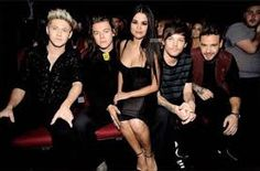Image result for ama awards 2015 one direction with selena gomez