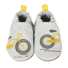 6-12 month Robeez Bike Ride Baby Shoes