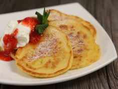 Clatite+de+branza Cheese Pancakes, French Toast, Cooking, Breakfast, Sweet, Desserts, Recipes, Food, Sweets