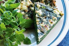 Greek-style frittata - lunches