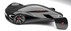 McLaren JetSet, Marianna Merenmies, electric vehicle, Single Seat Car, supercar, sports car, concept car, future car, ev, futuristic car, eco car, aerodynamic, electric car, carbon fiber composites, green car