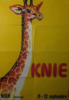 Circus collection: Cirque Knie 1965