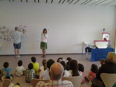 2017 junio: Taller y cuentacuentos con Cristina Oleby y Jesús Navarro.