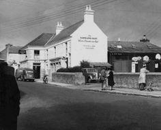 Ballybrack village in days gone by, Ballybrack Co Dublin Ireland. Photo Engraving, Dublin City, Dublin Ireland, Old Photos, Street View, Irish, Signwriting, 1970s, Buildings