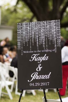 d8f46d1358ae Premier Wedding Mobile Cover Bride  Kayla Rogers McCleary. Wedding Ceremony  SignsWedding Welcome ...