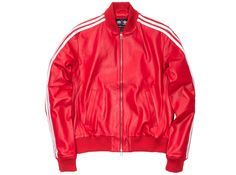 PHARRELL X ADIDAS ORIGINALS TRACKTOP SOLID PACK - RED | Undefeated