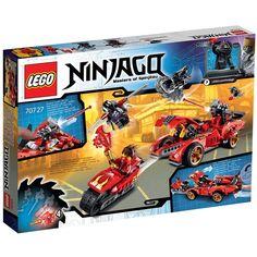 Amazon.de: Lego Ninjago 70727 - X-1 Ninja Supercar: Spielzeug