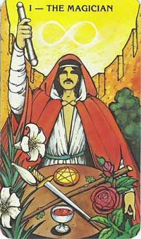 A brief explanation of the symbolism and significance of The Magician card from Tarot Teachings.com