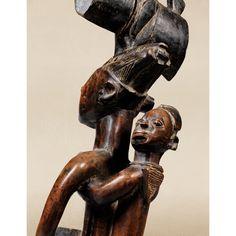 Yoruba Ose Sango (Shango Staff), Nigeria…