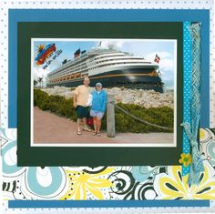 Disney Cruise Scrapbook Page Inspiration