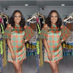 There are a lot of ways to get ourselves beautified later than an Asoebi style, Even if you are thinking of what to create and execute subsequently an Asoebi style. Ankara Short Gown, Short Gowns, Ankara Gowns, Ankara Dress, Short Sleeve Dresses, African Print Dresses, African Fashion Dresses, African Dress, African Attire