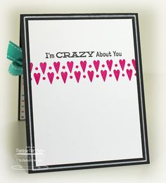 Inside of card  Debbie Carriere, Scrappin' My Heart Out: Off the Chart...MFT New Product Tour