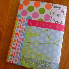 4ème de couverture cahier à fabriquer soi même http://mysweetpepite.com/2013/08/13/cahier-customise/