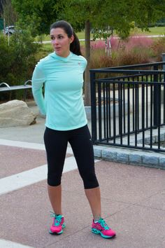 My incredible sister in the picture!!! - Stretch out, stride strong and own the day.    Introducing the Wave Inspire 11.