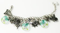 The Mortal Instruments Inspired Charm Bracelet