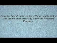How-To Burn Movies From U-Verse DVR - YouTube