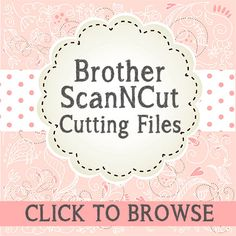 free svg cutting files for brother scan n cut Scan N Cut Projects, Projects To Try, Svg Files For Scan And Cut, Brother Dream Machine, Brother Scanncut2, Paper Cutting Machine, Cut Image, Cut Canvas, Brother Scan And Cut