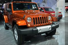 2014 Jeep Wrangler at the 2014 North American International Auto Show