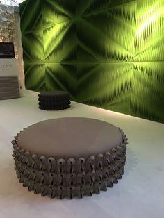 ANNE KYYRÖ QUINN Acoustic wall coverings handcrafted in London. http://www.annekyyroquinn.com/