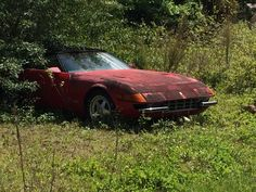 Abandoned Ferrari - Imgur