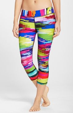Trina Turk Recreation 'Digitized' Mid Length Leggings available at #Nordstrom