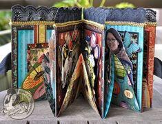 Susan Lui Graphic 45 Bird Song Diorama Mini Album Box