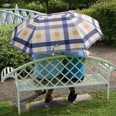 Laura Ashley Umbrella Couples - Mitford Check Charcoal