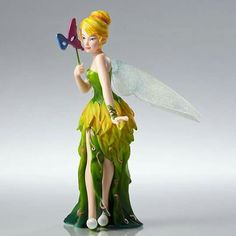 Disney Fairies Tinker Bell Masquerade by Enesco in Figurines > Disney Disney Statues, Disney Figurines, Tinkerbell Disney, Disney Fairies, Disney Art, Disney Movies, Disney Stuff, Collection Couture, Disney Couture