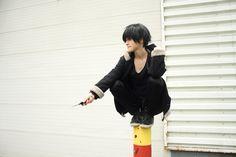 Izaya Orihara cosplay (Shikiyoru 2015)