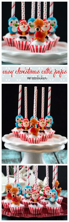 Pint Sized Baker: Easy Christmas Cake Pops