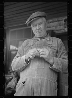 Arthur Rothstein. Miller at Nethers, Virginia. 1935 Oct. Library of Congress.