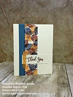 Mediterranean Achievers Blog Hop JULY 2016 Thoughtful Branches #stampinup #remarkablycreated