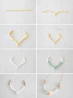 Bijoux bois de cerf