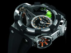 """6 Very Strange, Very Expensive Watches - see more about this and the other watches featured in this selection of excerpts from Ariel's book at Business Insider """"When Concord Watches released the C1 Quantum Gravity Tourbillon in 2008, many people believed it signalled what the future of high-end watchmaking would look like..."""" then see more about Ariel's book, """"The World's Most Expensive Watches"""" here: http://www.ablogtowatch.com/worlds-most-expensive-watches-book-ariel-adams/"""
