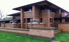 Darwin Martin House, Buffalo NY - Frank Lloyd Wright