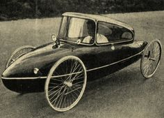 vintage velomobile