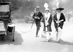 Royal Ascot in 1914; fashion, clothes, style, outfit, vintage, photo ...