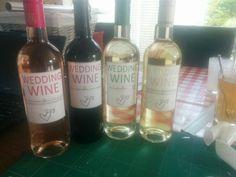 Persoonlijke wijn etiketten