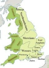 ¿Te haz preguntado sobre el origen del idioma inglés? Es muy interesante, aquí te dejamos un pequeño artículo sobre ello. Uk History, History Of England, British History, Family History, Anglo Saxon Kingdoms, Elizabeth Ii, Anglo Saxon History, Map Of Britain, Geography