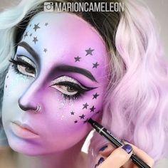"""𝔐𝔞𝔯𝔦𝔬𝔫 𝔐𝔬𝔯𝔢𝔱𝔱𝔦 on Instagram: """"H a l l o w e e n SERIES • 13/31 🇫🇷 Si vous voulez voir la vidéo entière avec toutes les explications et la liste complète des produits,…"""" Montreal, Unicorn, Halloween Face Makeup, March, Instagram, I Want You, Products, A Unicorn, Unicorns"""