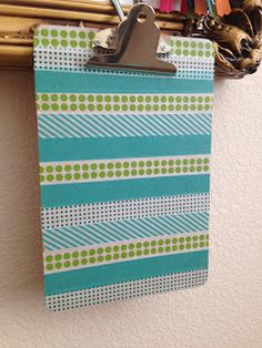 What To Do With Washi Tape    #Today's Every Mom