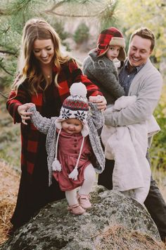 the daybook: this year's family christmas pictures + card!