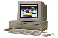 And the color was! In March 1987, the Macintosh II introduces the second generation of Mac with a monitor capable of displaying images ...