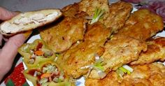 Chicken steak in potato batter / Culinary Universe Chicken Steak, Tandoori Chicken, Healthy Diet Recipes, Cooking Recipes, Czech Recipes, Ethnic Recipes, Good Food, Yummy Food, Chicken Cutlets