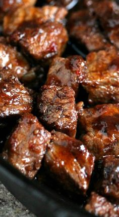grilled steak bites your family will love them !
