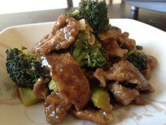Dukan Beef and Broccoli